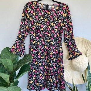 Old Navy Floral Long Sleeve Midi